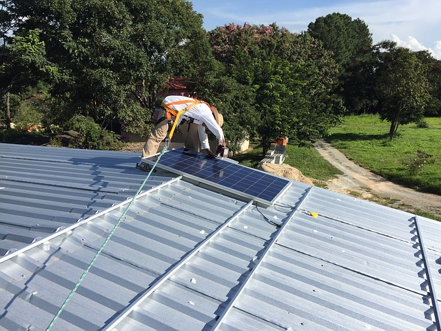 Photovoltaik-Kredit aufbau